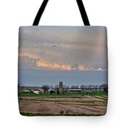 Spring Storms Farm 2 Tote Bag