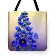 Spring Sunshine On Blue Tote Bag