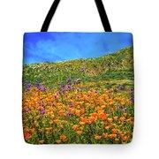 Spring Superbloom In Walker Canyon Tote Bag
