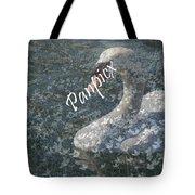 Spring Swan Tote Bag