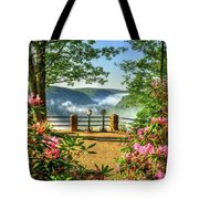 Spring Time At Colton Point State Park Tote Bag