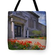Spring Time At The Muskegon Museum Of Art Tote Bag