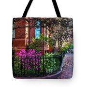 Spring Time In The City Tote Bag
