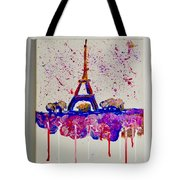 Spring Time. Paris. Eiffel Tower.  Tote Bag
