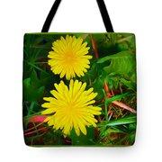 Spring Time Series Painting Tote Bag