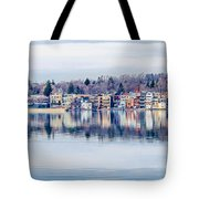Spring Time Waterfront Tote Bag