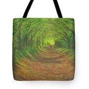 Spring Tree Tunnel Tote Bag