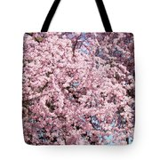 Spring Trees Art Prints Pink Springtime Blossoms Baslee Troutman Tote Bag