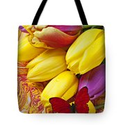 Spring Tulips Tote Bag by Garry Gay