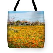 Spring Wildflower Farm Tote Bag