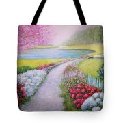 Spring Tote Bag by William H RaVell III