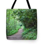 Springing Down The Path Tote Bag