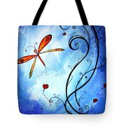 Springs Sweet Song Original Madart Painting Tote Bag