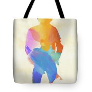 Springsteen From Behind Tote Bag