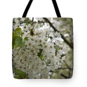 Springtime Abundance - Masses Of White Blossoms Tote Bag