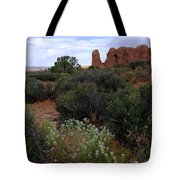 Springtime At Arches Tote Bag