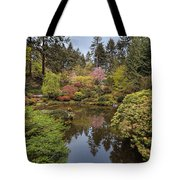 Springtime At Portland Japanese Garden Tote Bag