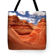 Springtime At The Wave Tote Bag