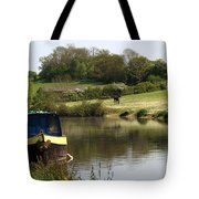 Springtime By The Canal Tote Bag