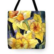 Springtime Daffodils Tote Bag