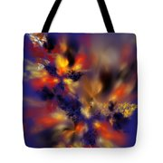 Springtime Explosion Of Life. Tote Bag