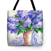 Springtime Fragrance Tote Bag