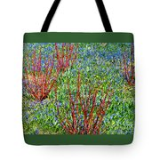 Springtime Impression Tote Bag