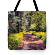 Springtime In Astroni National Park In Italy Tote Bag