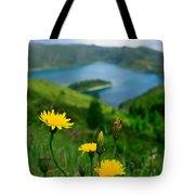 Springtime In Fogo Crater Tote Bag