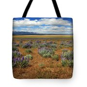 Springtime In Honey Lake Valley Tote Bag