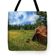 Springtime In Lassen County Tote Bag