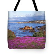 Springtime In Pacific Grove Tote Bag