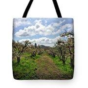 Springtime In The Apple Grove Tote Bag