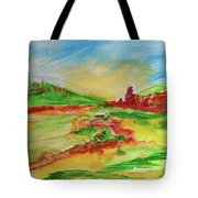 Springtime In The Valley Tote Bag
