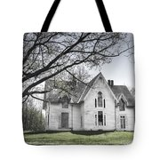 Springtime Ledge Homestead-bicolor Tote Bag