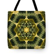 Springtime  Mandala Tote Bag