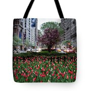 Springtime On Park Avenue Tote Bag