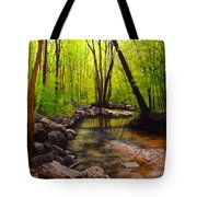 Springtime Reflected Tote Bag