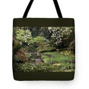 Springtime Walkway Tote Bag