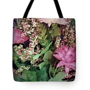 Springtime With Flowers Tote Bag