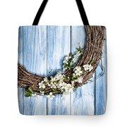 Springtime Wreath Tote Bag