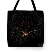 Sprinkled With Red Tote Bag