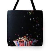 Sprinkles On Cup Cakes Tote Bag