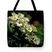 Sprinkles On Lantana Flower Tote Bag