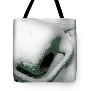 Sprinkling Can In The Snow Tote Bag