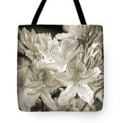 Sprint Flowers B/w 1 Tote Bag