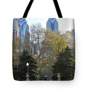 Sprintime At Rittenhouse Square Tote Bag