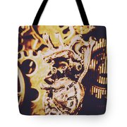 Sprockets And Clockwork Hearts Tote Bag