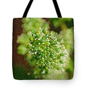 Sprouting Grapes Tote Bag