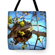 Sprouting Wasp Net Tote Bag